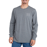 Billabong UNITY TEE LS DARK GREY HEATH