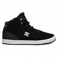 DC CRISIS HIGH WNT B SHOE BLACK/CAMO