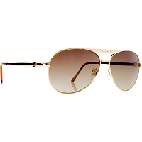 VonZipper FERNSTEIN GOLD/BROWN GRADIENT