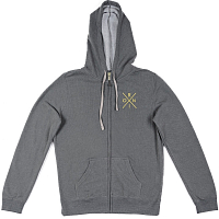 Ronix WOMEN'S FUNTOWN ZIP-UP HOODY Ash/Yellow