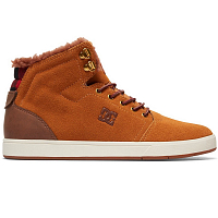 DC CRISIS HIGH WNT M SHOE WHEAT/DK CHOCOLATE