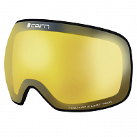 CAIRN FOCUS LENS BLACK CONTOUR-YELLOW