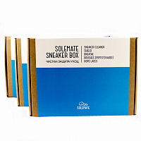 SOLEMATE Sneaker Box A/S BLUE/WHITE