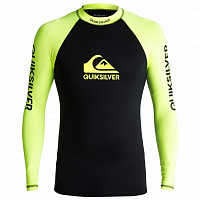 Quiksilver ON TOUR LS M SFSH SAFETY YELLOW/ BLACK