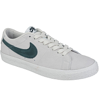 Nike SB ZOOM BLAZER LOW SUMMIT WHITE/DEEP JUNGLE
