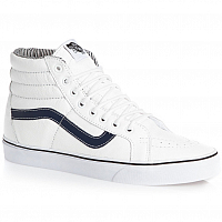 Vans SK8-HI REISSUE (Leather) white/stripes