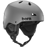 Bern TEAM MACON MEN'S Matte Grey/Black Liner