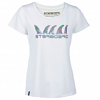 STARBOARD GRAPHIC TEE White