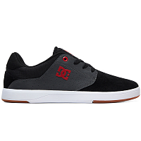 DC PLAZA TC S M SHOE BLACK/DK GREY/ATHLETIC RED