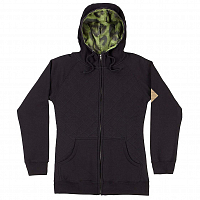 686 WMS LUNA QUILTED INS FULL ZIP blk