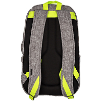 Nixon SMITH BACKPACK SE Heather Gray/Lime