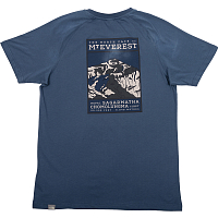 The North Face M S/S NORTH FACE TEE BLUE WING (N4L)