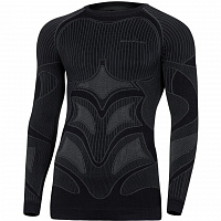 BodyDry EVOLUTION LONG SLEEVE SHIRT BLACK