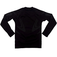 BODY DRY KIDS LONG SLEEVE SHIRT BLACK