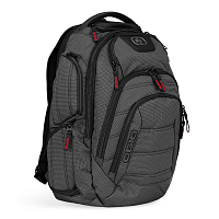 OGIO RENEGADE RSS BACKPACK BLACK PINDOT