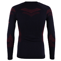 BODY DRY LHOTSE LONG SLEEVE SHIRT BLACK/RED