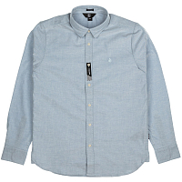 Volcom OXFORD STRETCH L/S WRECKED INDIGO