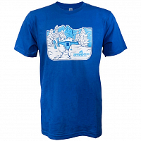Spark R&D SNOWED IN T-SHIRT ROYAL