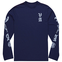 RVCA ROSE PUSH LS Blue Depths