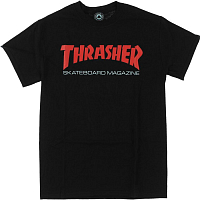 THRASHER TWO-TONE SKATE MAG T-SHIRT BLACK