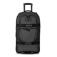 OGIO TERMINAL CHECKED LUGGAGE BLACK PINDOT