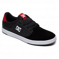 DC PLAZA TC S M SHOE BLACK/ATHLETIC RED