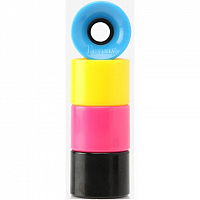 Penny Wheels PINK/BLACK/YELLOW/BLUE MULTI