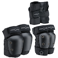 Pro-Tec STREET GEAR JR 3 PACK BLACK