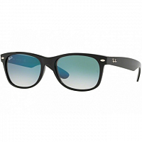Ray Ban NEW WAYFARER BLACK/CLEAR GRADIENT GREEN