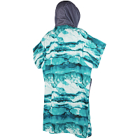Mystic PONCHO ALLOVER MINT