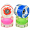 SUNSET SKATEBOARDS CRUISER WHEEL WITH ABEC9 HIPPY BLUE/GREEN/RED/PINK