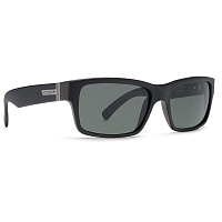 VonZipper FULTON Black Satin/Grey Chrome