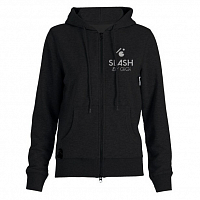 Slash ZIP HOODY BASIC BLACK