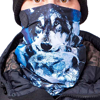 Celtek STEP UP NECK GAITER WOLF PACK