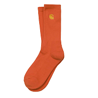 Carhartt WIP CHASE SOCKS PEPPER / GOLD