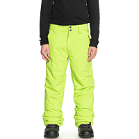 Quiksilver ESTATE YTH PT B SNPT LIME GREEN