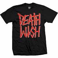 Deathwish DEATHSTACK BLK/RED TEE BLK/RED