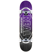 REAL SKATEBOARDS METALLIC OVAL FADES 8,0