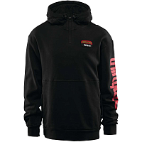 32 STAMPED HOODED PULLOVER BLACK