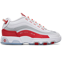 DC Legacy OG J Shoe WHITE/RED
