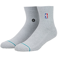 Stance NBA LOGOMAN QTR HEATHER GREY