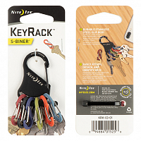 Nite Ize KEY RACK BLACK