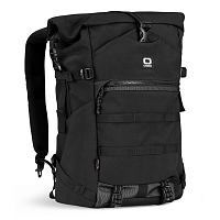 OGIO ALPHA CORE CONVOY 525r ROLLTOP BACKPACK BLACK