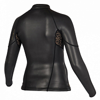 Mystic DIVA BLACK SERIES L/S JACKET BLACK