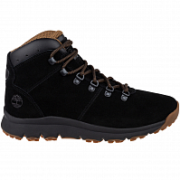 TIMBERLAND WORLD HIKER MID JET BLACK