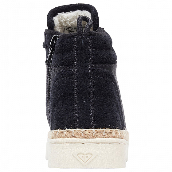 Высокие кеды ROXY HARBOR FUR J SHOE FW19 от Roxy в интернет магазине www.traektoria.ru - 4 фото
