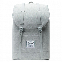 Herschel RETREAT Light Grey Crosshatch/Grey Rubber