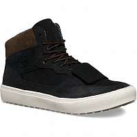 Vans MOUNTAIN EDITION CUP (Waxed Suede) Black