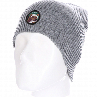 Celtek STATION PATCH BEANIE grizzly