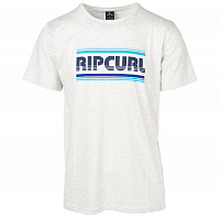 Rip Curl ESSENTIAL BIGMAMA SS TEE OPTICAL WHITE MARLE